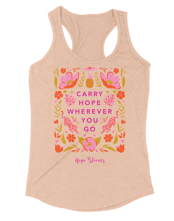 Carry Hope Tank | Hope Blooms