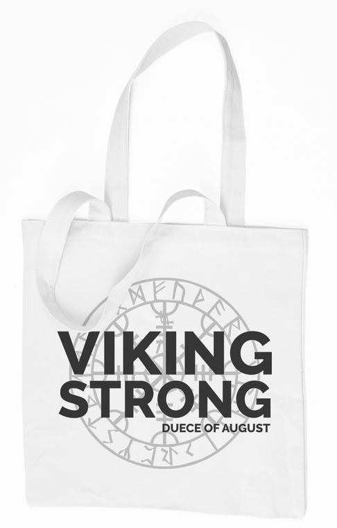 The Deuce : Viking Strong Tote Bag | The Deuce of August