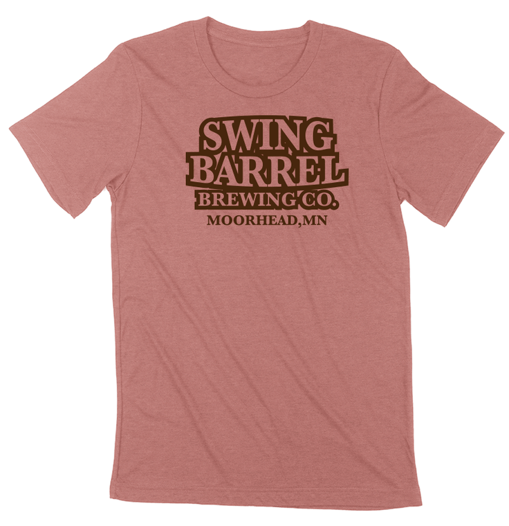 Mauve Swing Barrel Brewing Company Sublimated Soft Tee