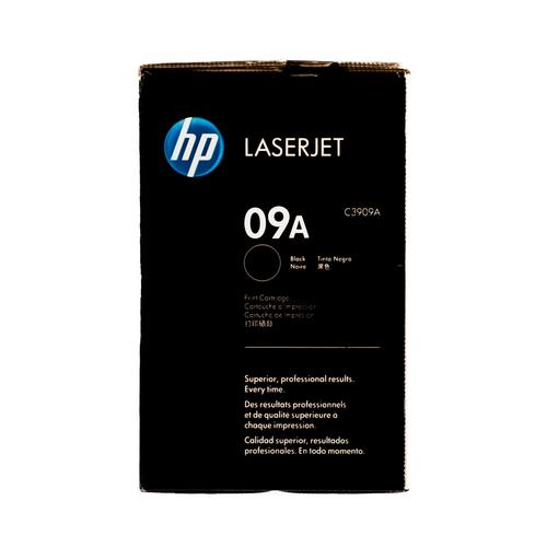 Original HP 09A C3909A Black LaserJet Toner Cartridge