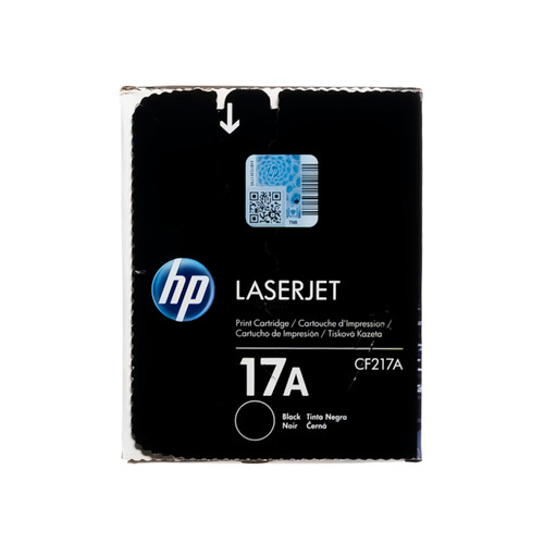 Original HP 17A CF217A Black LaserJet Toner Cartridge