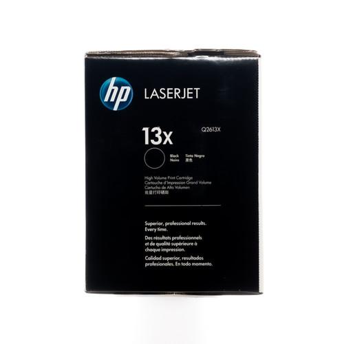 Original HP 13X Q2613X Black High-Yield LaserJet Toner Cartridge