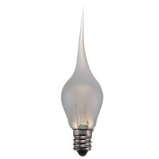 Silicone Flame Tip Bulb-candelabra-6w Warm White