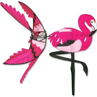 Pink Flamingo Spinner 34 in.  Size: 34 in. x 35 in. diameter: 32 in.