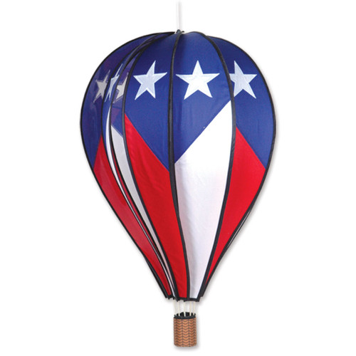 Wind Spinner Patriotic Hot Air Balloon 26 Inch