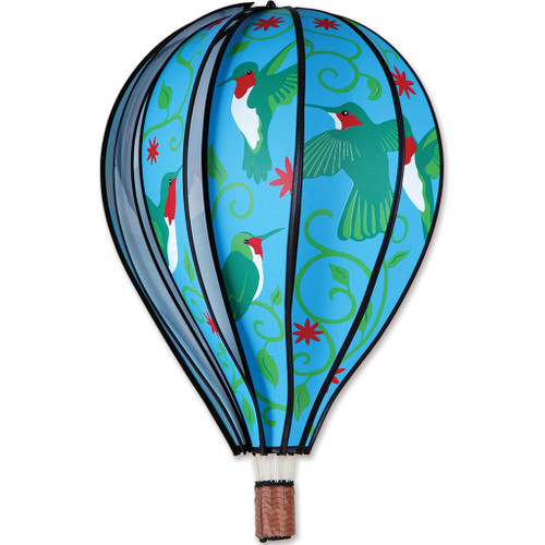 Wind Spinner Hummingbird Hot Air Balloon 22 Inch