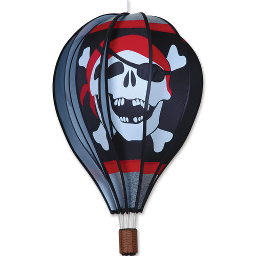 Wind Spinner Pirate Hot Air Balloon 22 Inch