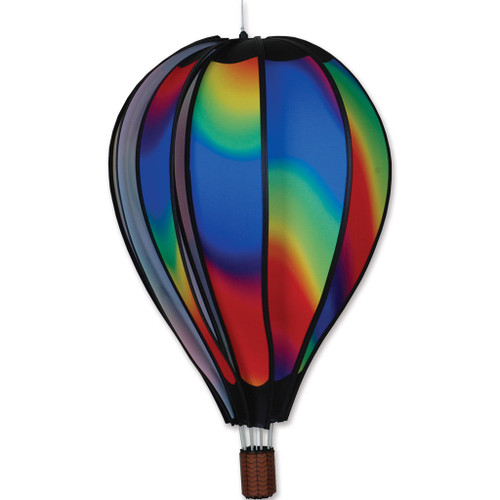 Wind Spinner Wavy  Hot Air Balloon 22 Inch