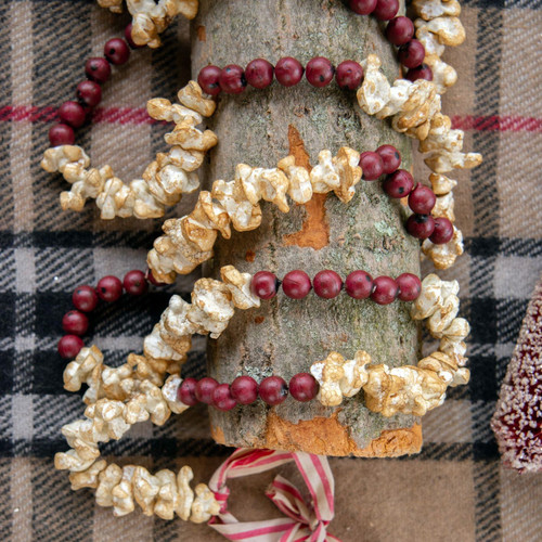 9 FOOT POPCORN / CRANBERRY GARLAND