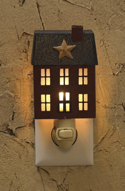 """HOME PLACE NIGHT LIGHT DIMENSIONS: 6""""H x 3.5""""W x 2.25""""D"""