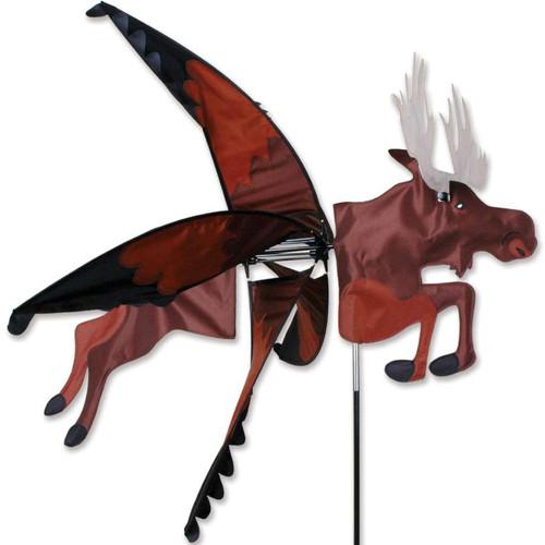 Flying Moose Spinner Size (W x L)37 in. x 32 in. Diameter 32 in