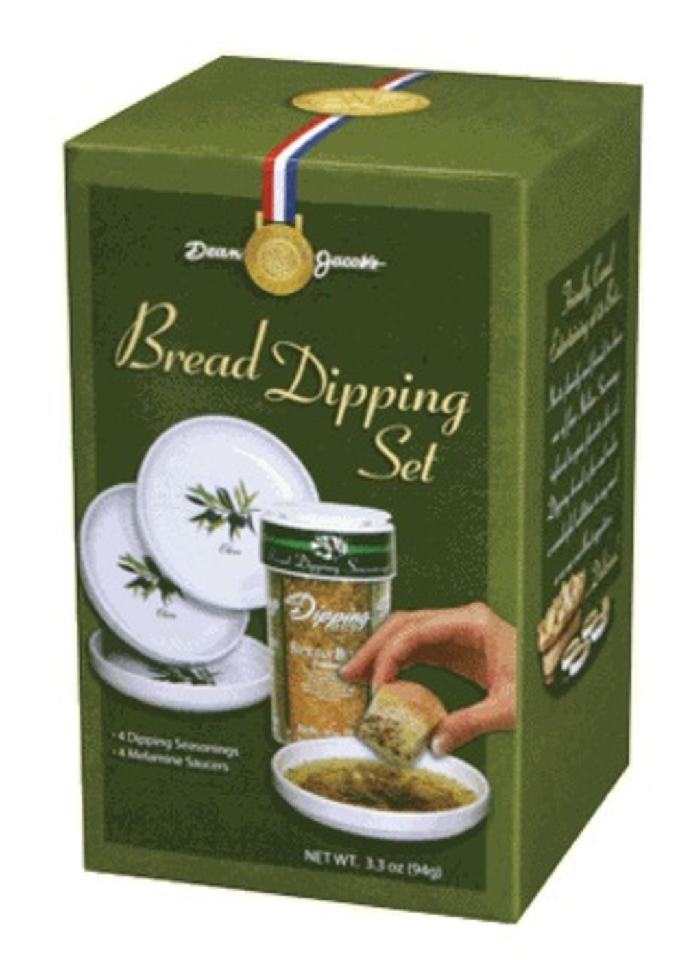 5 piece Melamine Bread Dipping Set 4.0 Oz Large