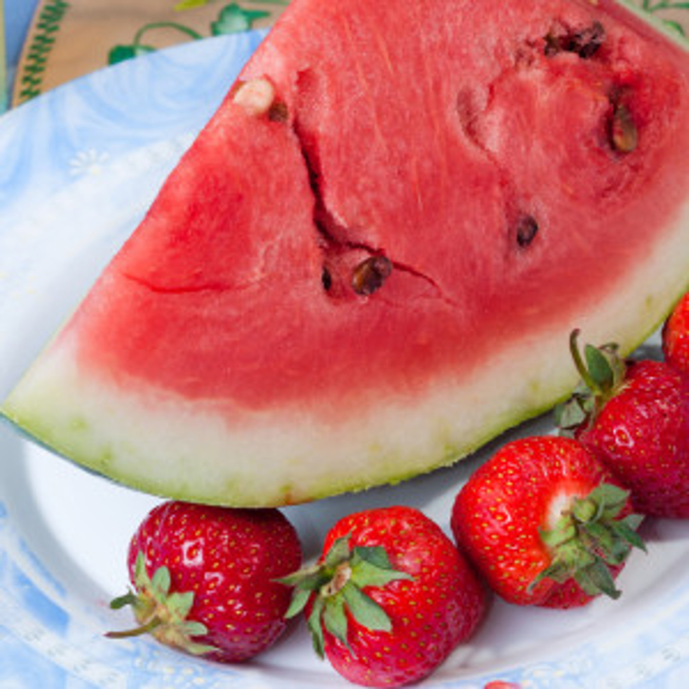 White Watermelon Strawberry Balsamic