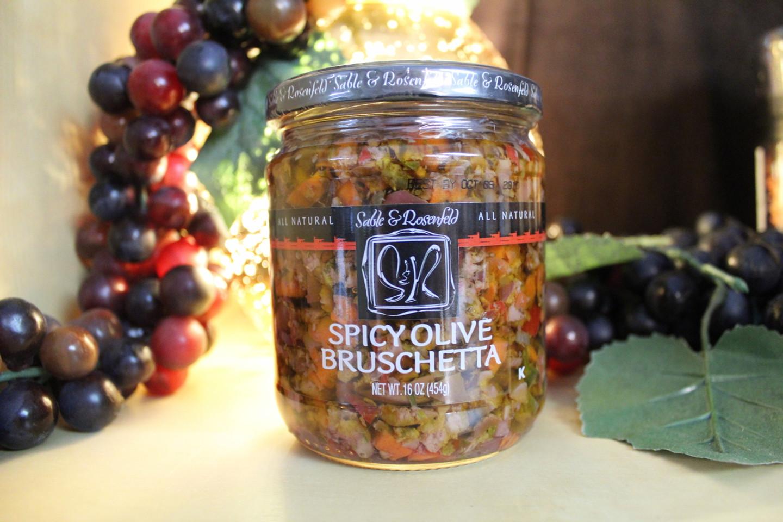 Spicy Olive Brushetta