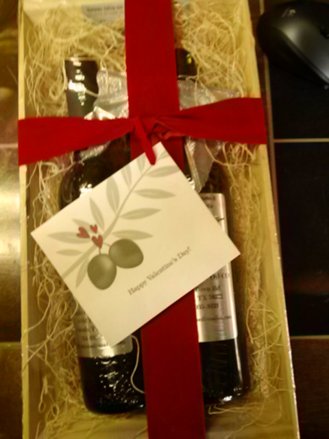 Valentine S Day Gift Set With Love Salado Olive Oil Co