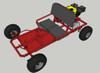 Live Axle Go-Kart Kit- Frame not included