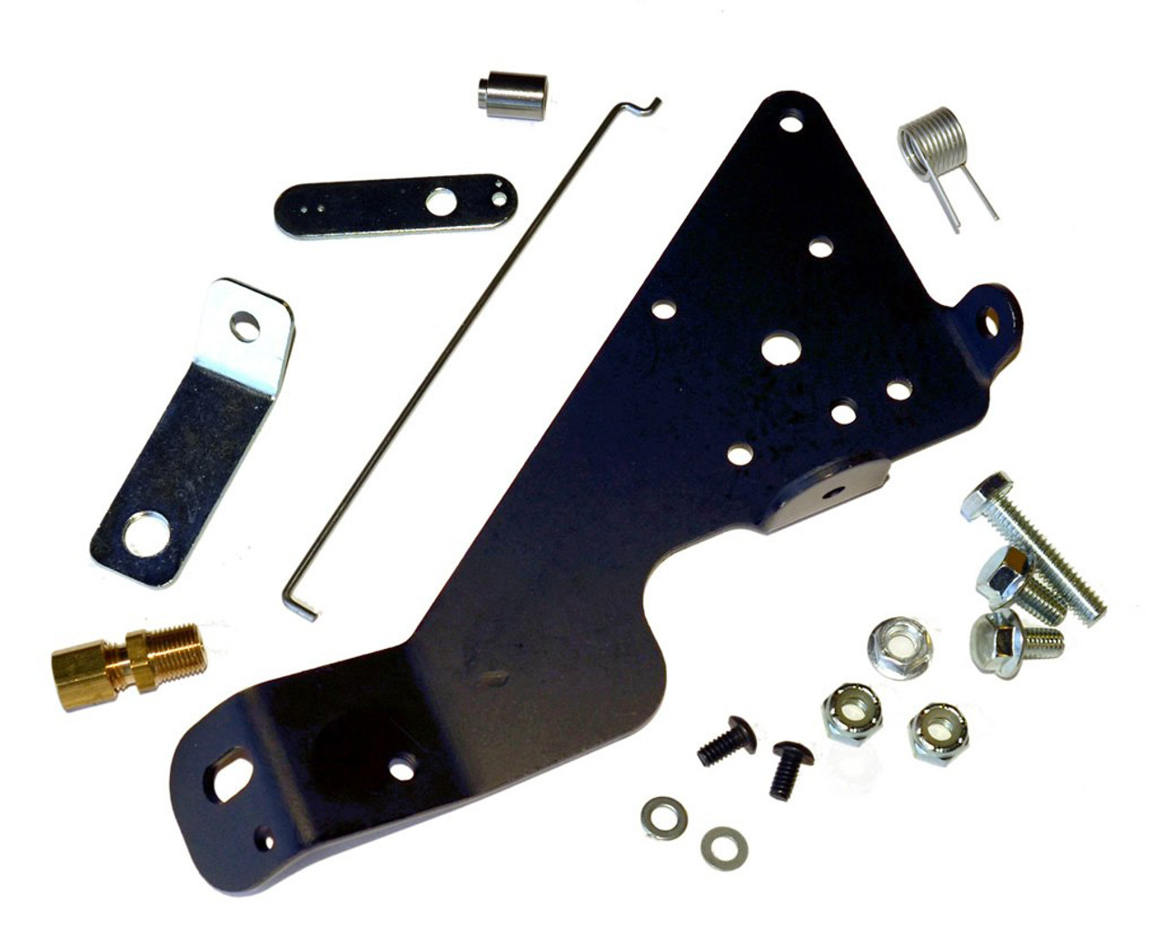 Half Top Plate Throttle Mechanism