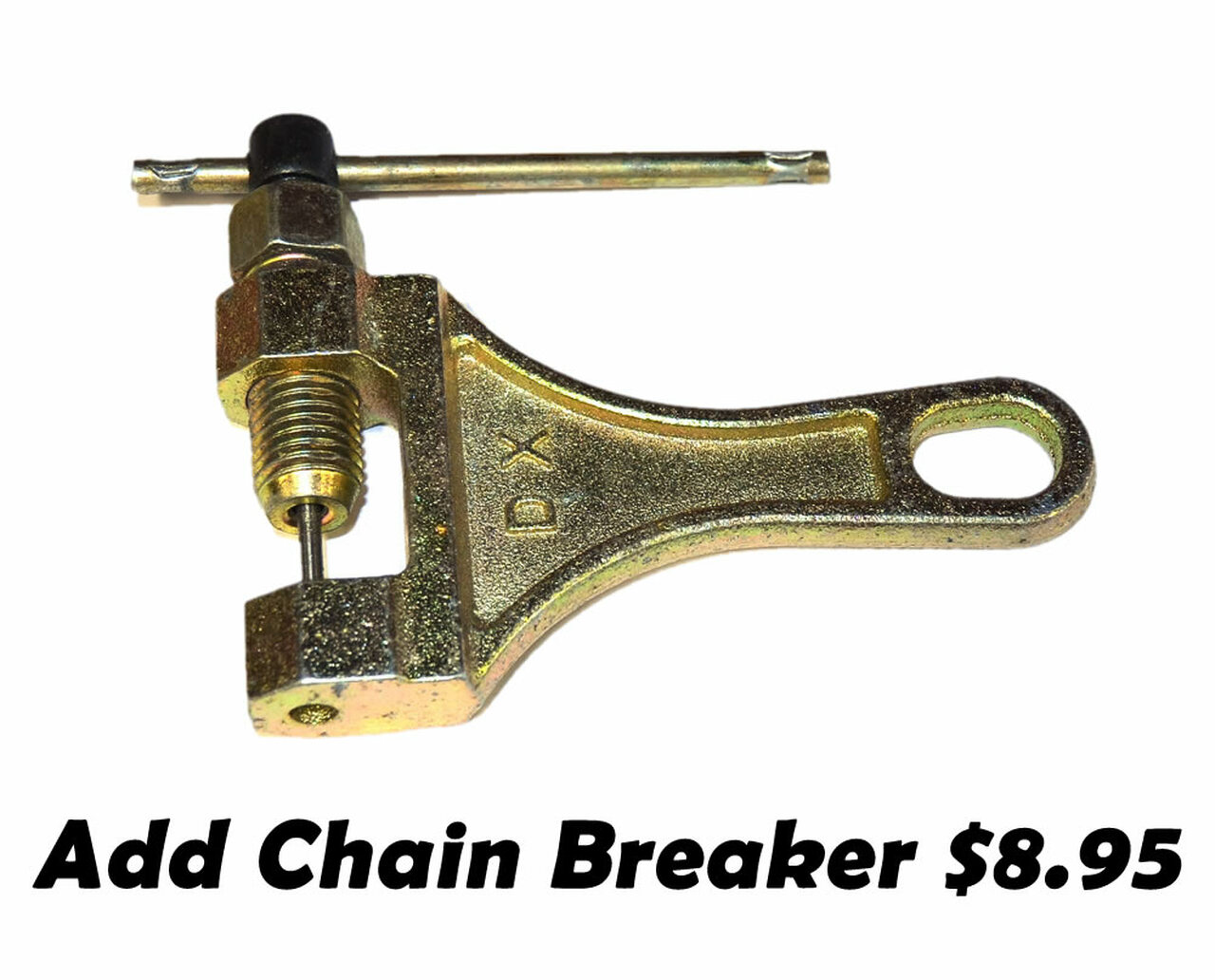 Mini Bike 6 Hole 420 Sprocket, 5' Chain & Clutch