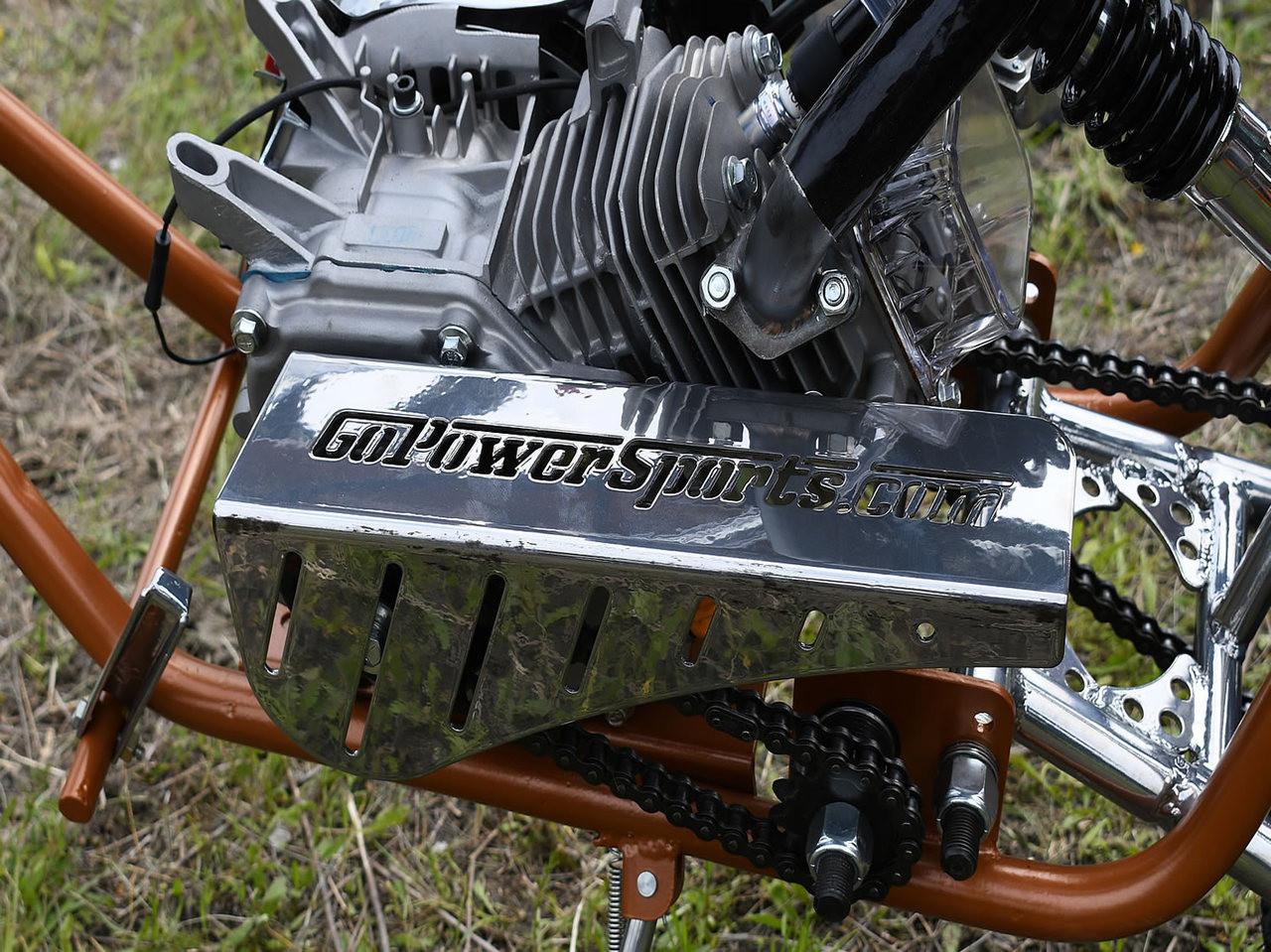 GPS Mini Bike Chain Guard