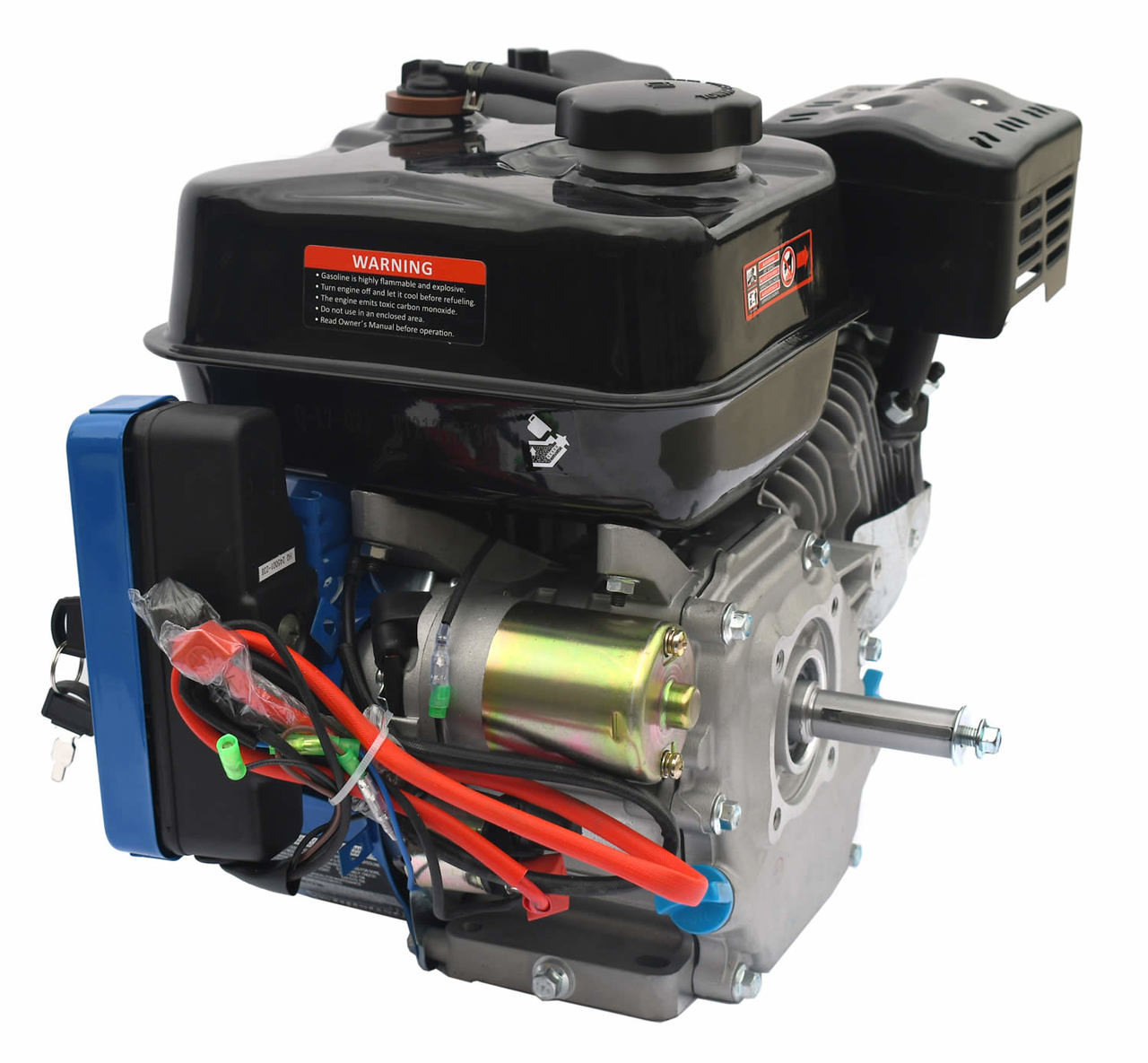 Electric Start  212cc Tillotson Hemi Engine