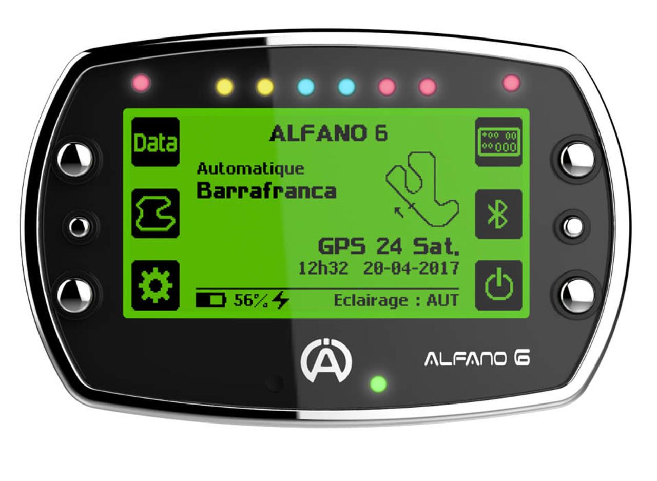 Alfano 6 Light, Data Acquisition Gauge/Tachometer