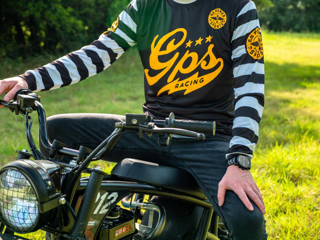 GPS Retro Race Jersey - Striped