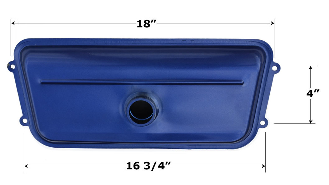 Mini/Mid Fuel Tank, Blue