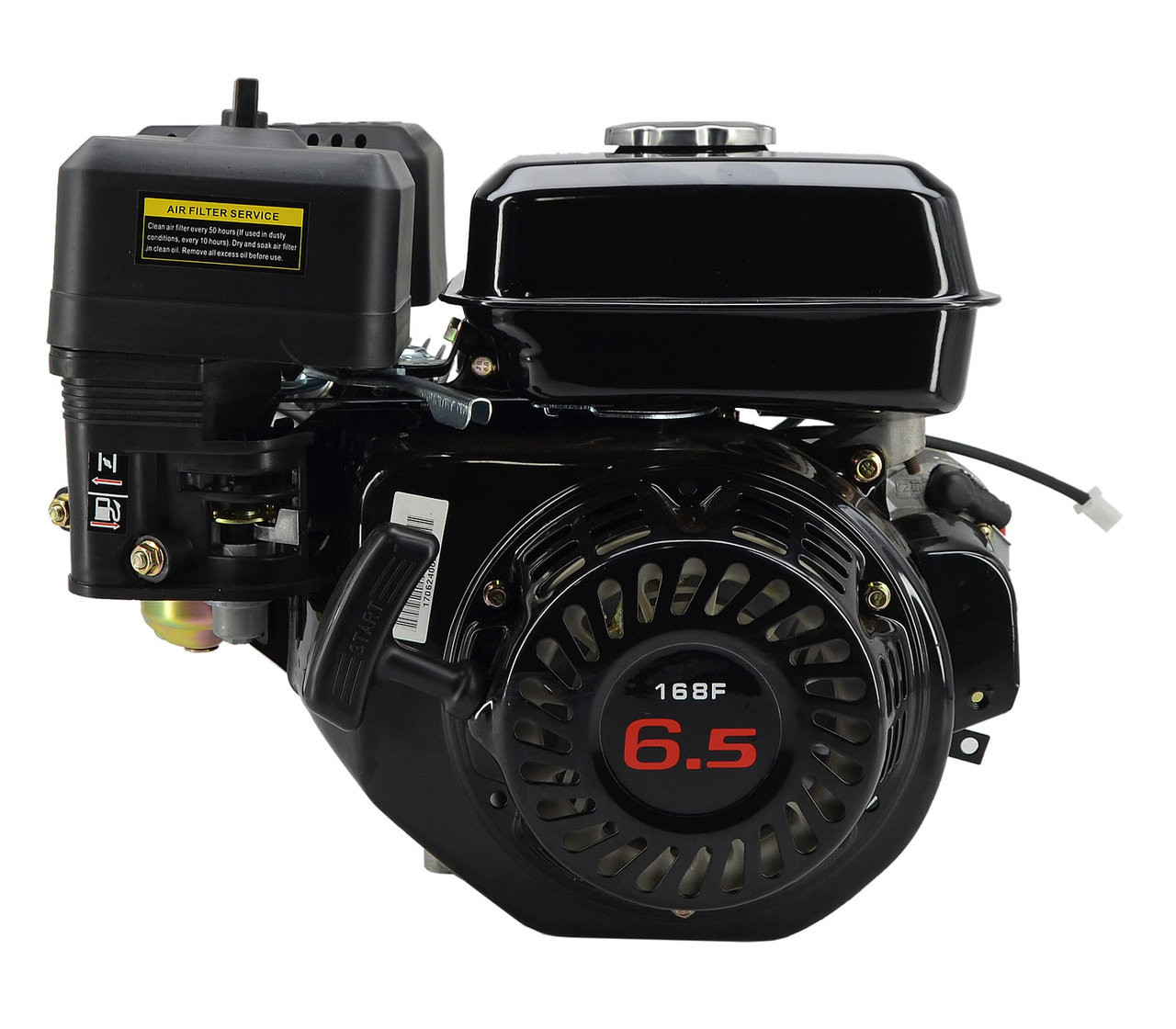 6.5hp Mid XRS Manual Start Engine