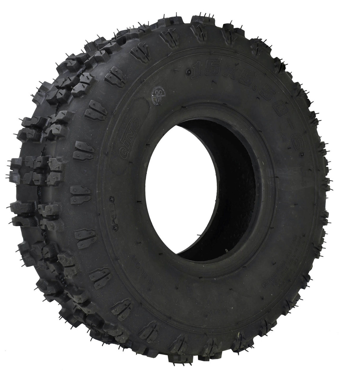 15 x 5.50-6 Cleat tire