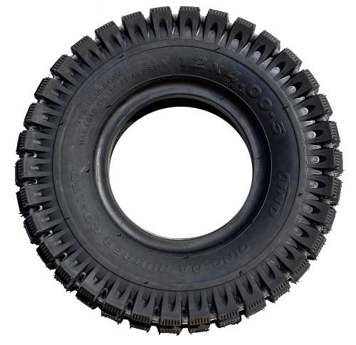 """12 x 400-5"""" Stud Tire"""