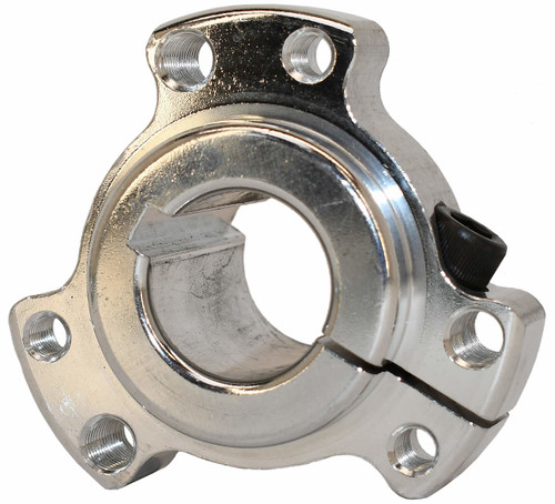 "1"" Hub Dual Mount Silver - Live Axle type"