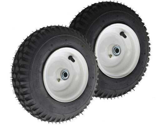 410/350-6 Stud Tire Assembly Narrow rim 2-Pack