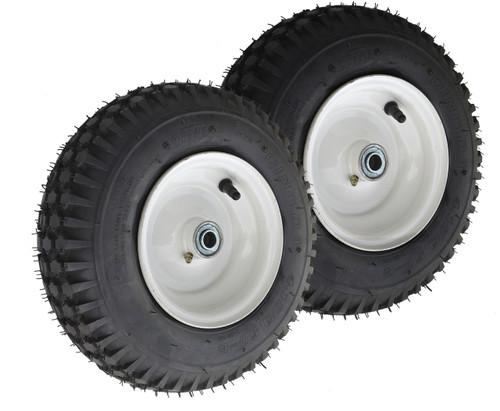 410/350-6 Stud Tire Assembly Narrow rim 2-Pack