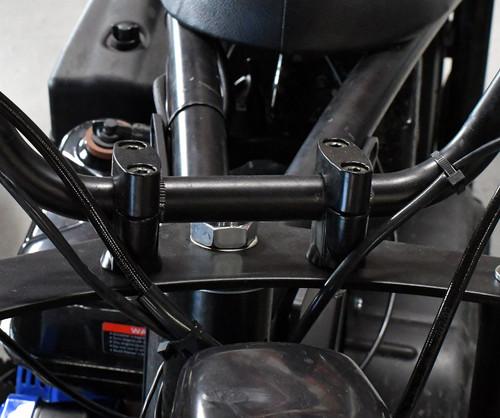 MB200 Upper & Lower Handlebar Risers (2)