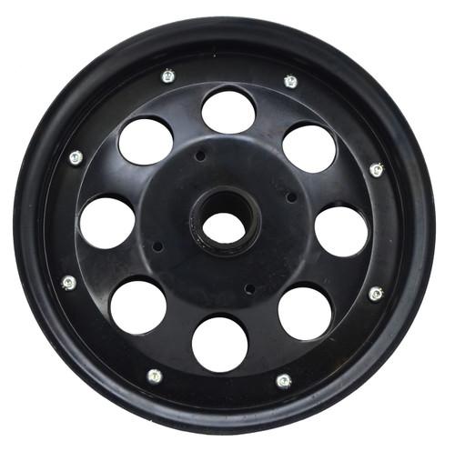 "10""  Black Steel Modular Wheel"