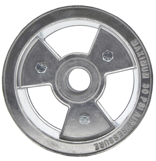 "6"" Tri-Star Wheel, 4"" Wide ( Aluminum )"