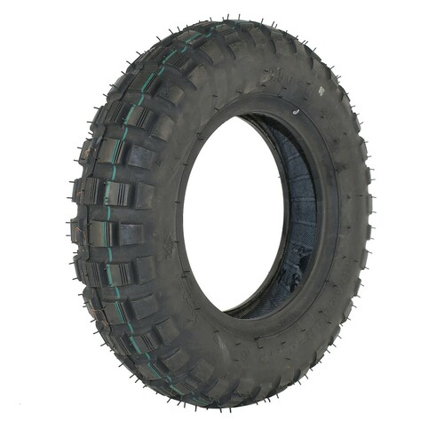 "3.50 - 8"" Front/Rear Tire Trials"