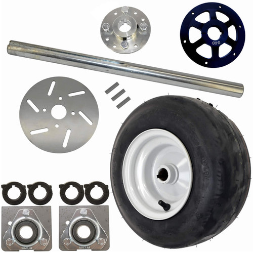 Mini Bike Live Axle Kit