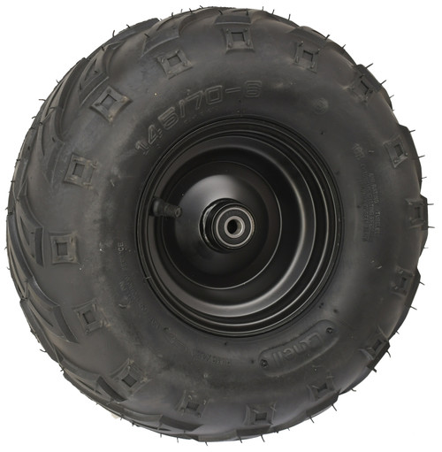 Mega Steel Wheel Combo-145x70-6 v-tread