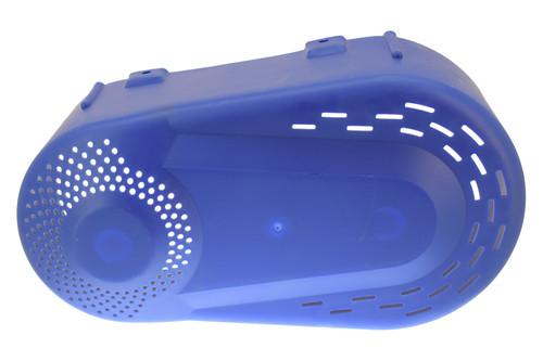 Blue Plastic TAV Cover