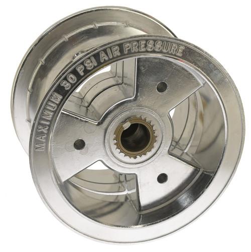 """6"""" Live Axle Tri-Star Wheel, 4"""" Wide ( Aluminum )"""
