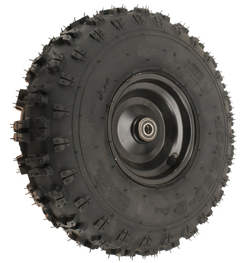 Cleat Tire and Steel Wheel Combo
