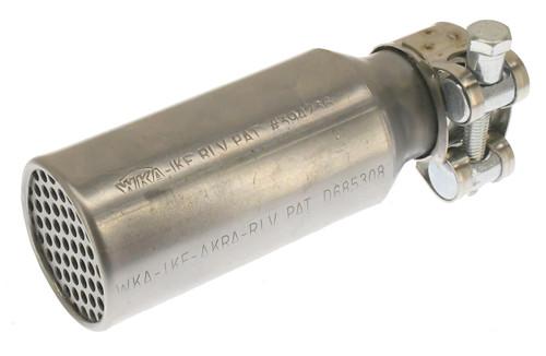 """RLV #4115 1"""" Mini91 Silencer w/ HD SS Clamp"""