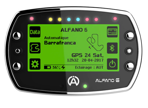 Alfano 6 Light, Data Acquisition Gauge/Tachometer