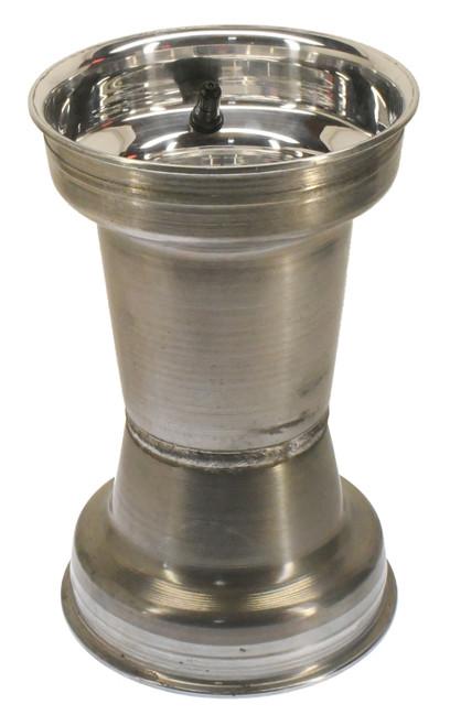"""6"""" X 10"""" Silver Douglas Wheel (DWT)"""