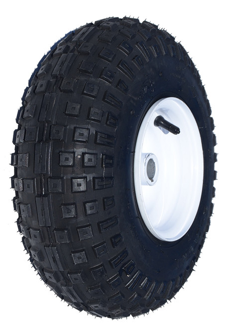 """145 x70-6 Knobby Tire 1"""" Live Axle Assembly"""