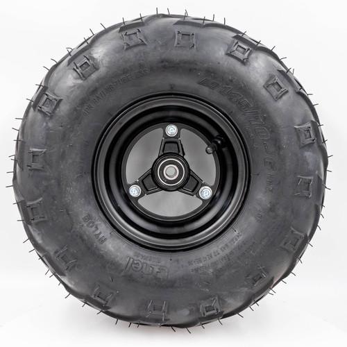 "Minibike 6"" Front Mag Wheel Assembly, 145x70-6 V Tread"