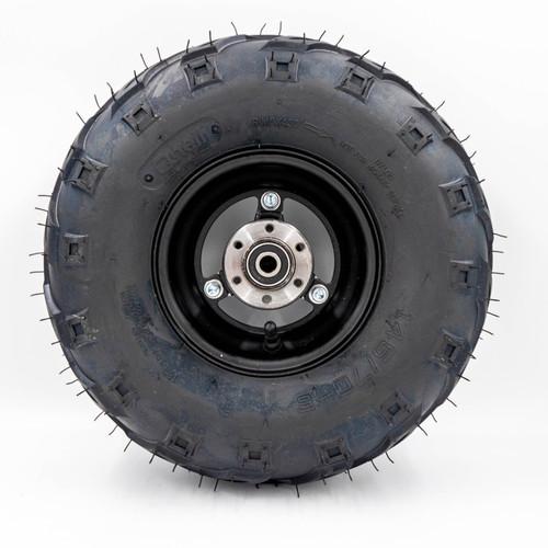"""Minibike 6"""" Rear Mag Wheel Assembly, 145x70-6 V Tread"""
