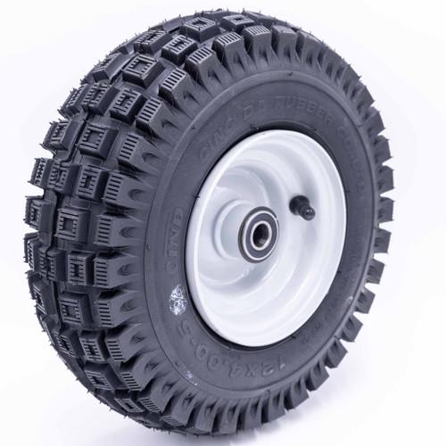 "5"" Floater Wheel Assembly, 5/8"" Bearings - 12x400-5 Stud"