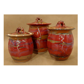 Glover 3pc. Canister Set